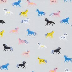 No Place Like Home - Horse of a Different Color Gray/Multi 202701