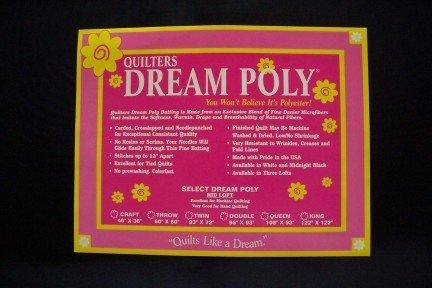 Quilter's Dream Black Poly Super Crib Batting