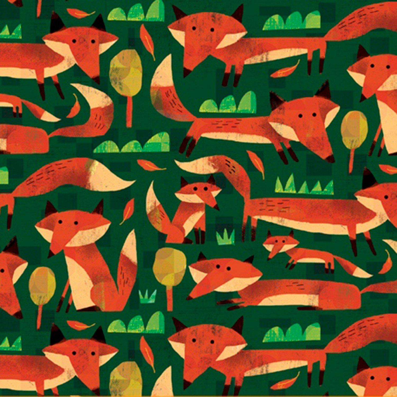 Woodland Animals Foxes