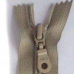 22 Zipper, Taupe