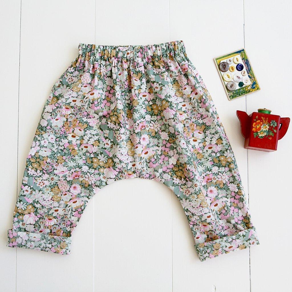 Wiksten Baby & Toddler Harem Pants Sewing Pattern
