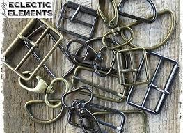 Eclectic Elements Bar Buckle Black