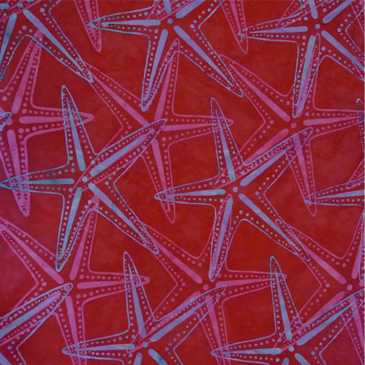 Batik by Mirah - Crystal Bay Coral Flower