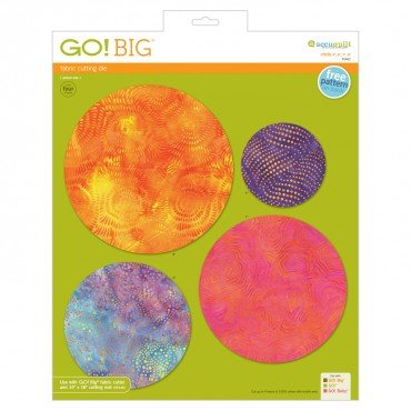 Accuquilt GO! Big Circle 4, 6, 7, 8 55462