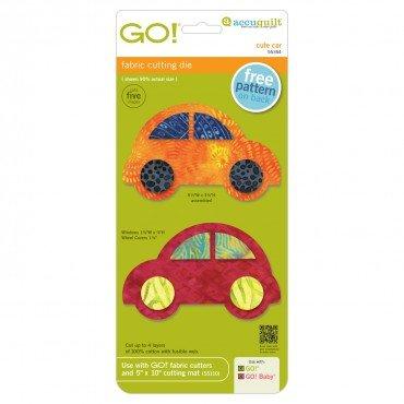 Accuquilt GO! Cute Car Fabric Cutting Die