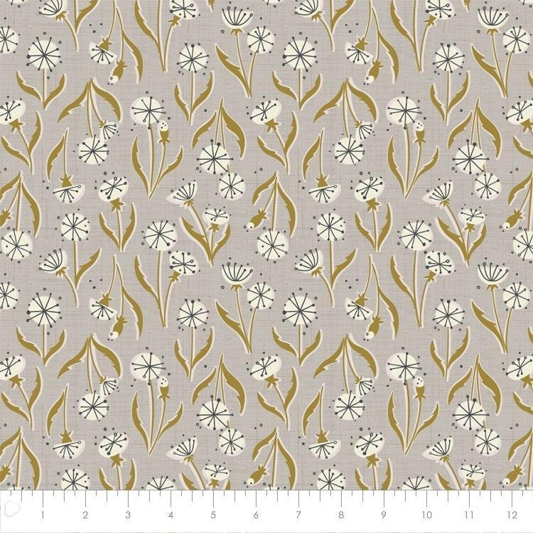 Petal Pusher - Dandelions - Grey - 27180201-01