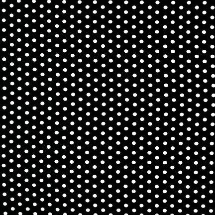 Robert Kaufman Spot On-Black