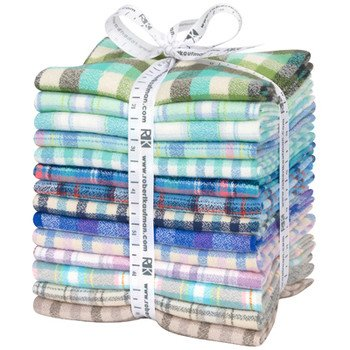 Fat Quarter Mammoth Junior Flannel Warm 14pcs Bundle
