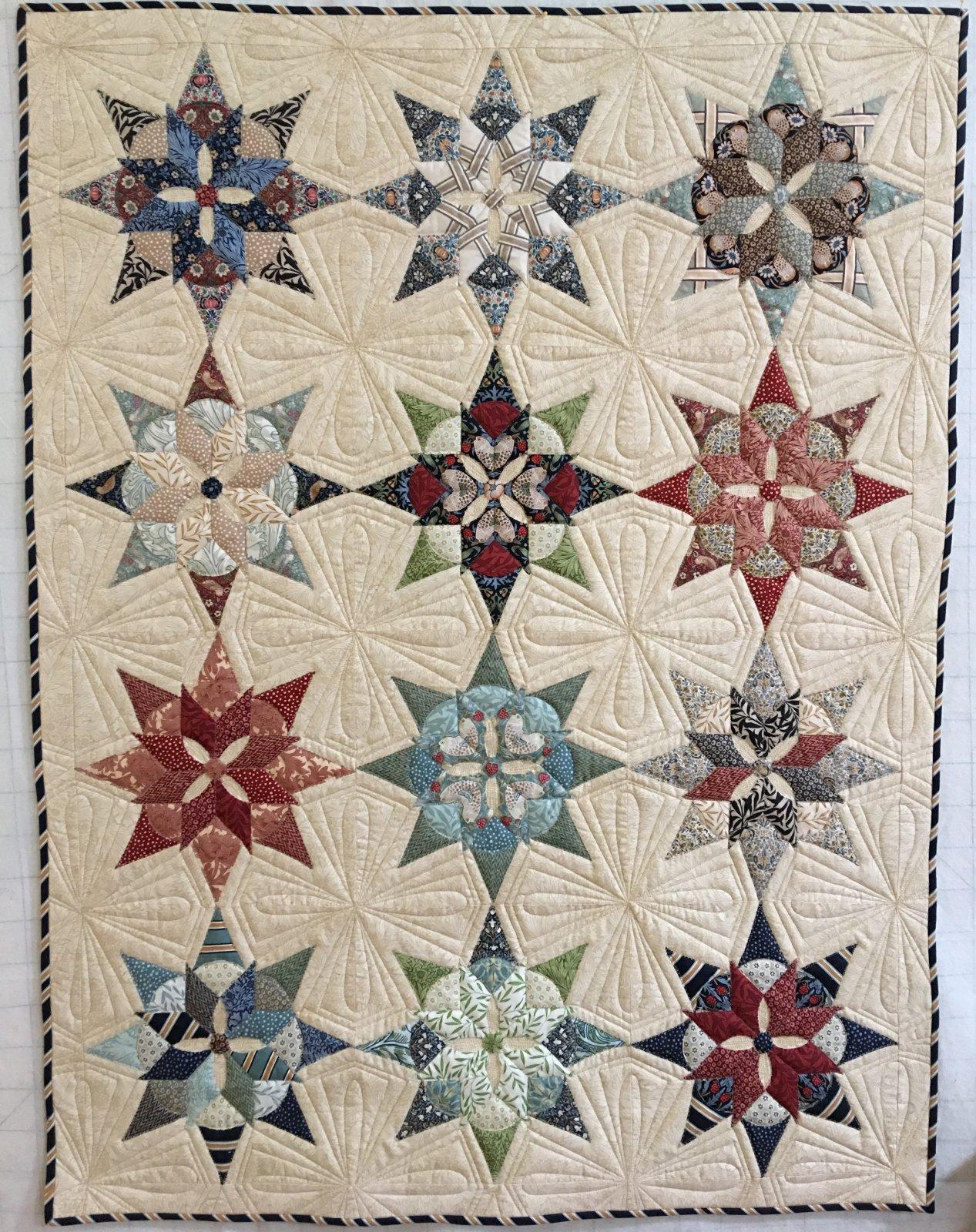 Brimfield Blooming Star Quilt Kit PRE-SALE