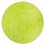 2 yd End of Bolt AGF Floral Elements - Kiwi