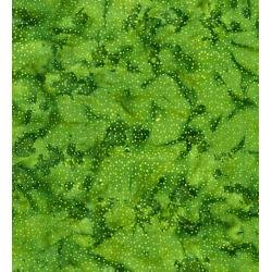 Blossom Batiks Cascade - Droplets - Grass Fabric - FF304-GR2
