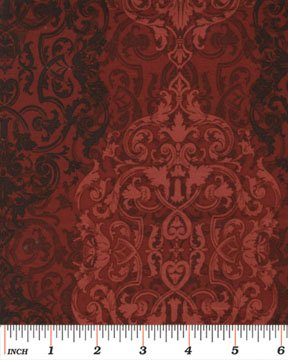 Kanvas Studio Renaissance Man Filigree Red 06463