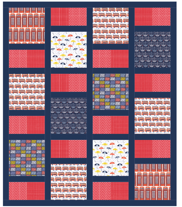 From London with Love All Squared Up Free Pattern Download