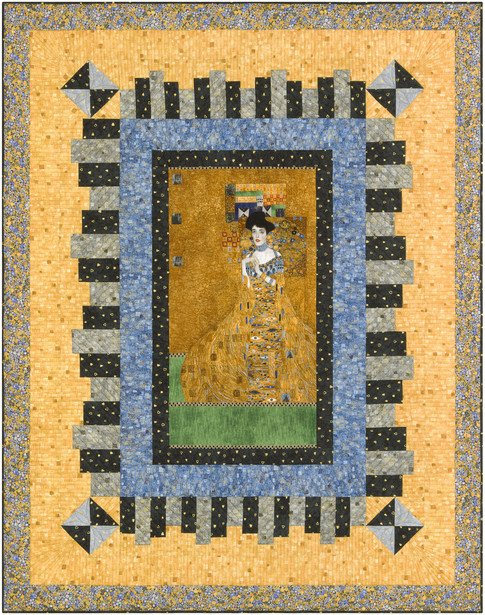 Gustav Klimt The Woman in Gold Quilt Free Download
