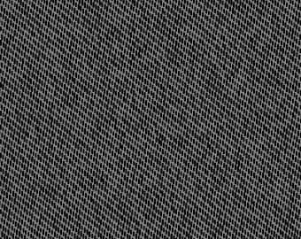 1-3/8 Yard End of Bolt - Texture Graphix Cool Gray - 6TG1 - Twill Dark Gray