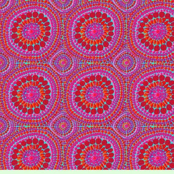 Kaffe Fassett Backing Fabric - Mandala Pink - QBGP003.2PINK