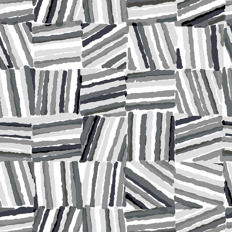 Cotton and Steel - Safari - Stacks Grey