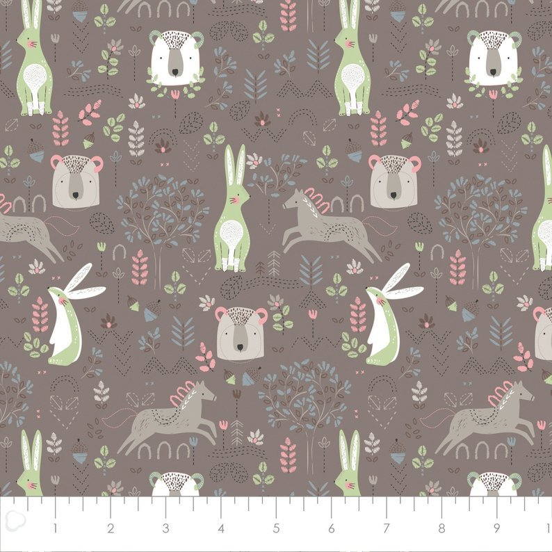 Pretty Little Woods - In the Woods - Taupe - 21180501-03
