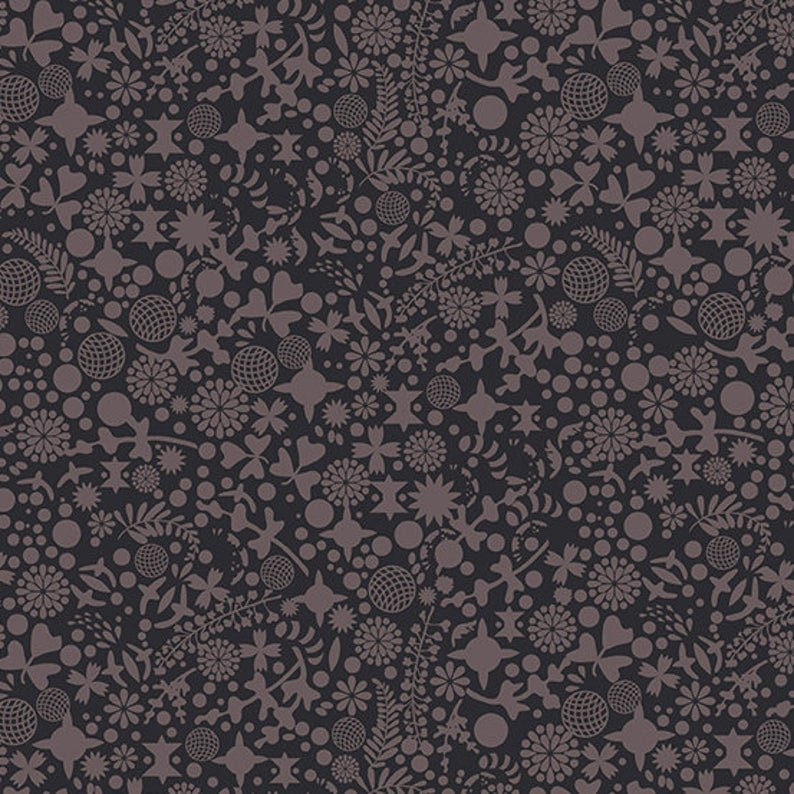 Art Theory by Alison Glass - Endpaper in Night - A-9706-C