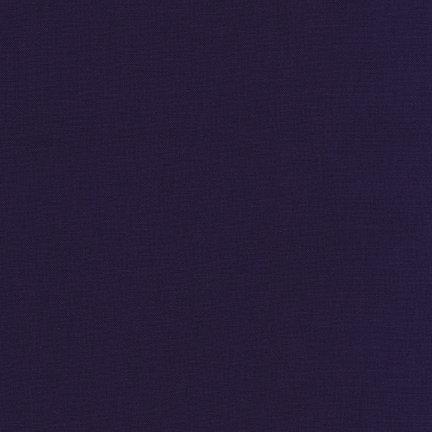 1 1/4 Yd End of Bolt Kona Cotton - Midnight 1232