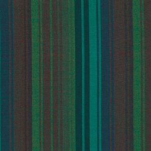 1/2 Yd End of Bolt - Kaffe Fassett Woven Exotic Stripe Mallard