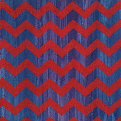 1 Yd End of Bolt - Artisian by Kaffe Fassett for Free Spirit - Lightening - Red