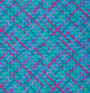 Kaffe Fassett Collective - Mad Plaid -Turquoise