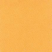 1 Yard End of Bolt - Moda Just A Speck Mango White 18109 31