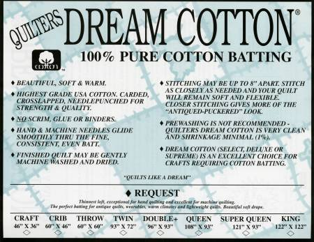 Quilter's Dream Cotton Request King White