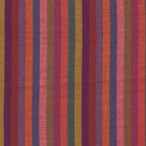 1 3/4 End of Bolt Kaffe Fassett Woven Narrow Stripe Spice