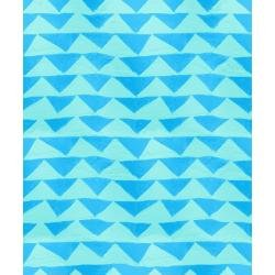 7/8 Yard End of Bolt Once Upon a Time-Little Mountain Blue