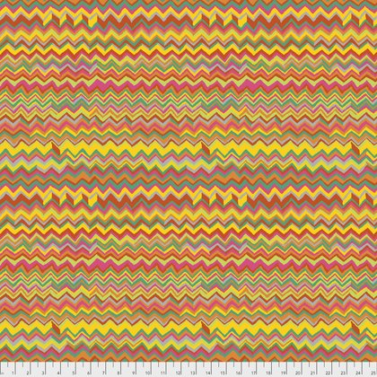 Kaffe Fassett Collective Fall 2017 - Zig Zag - Bright - PWBM043BRIGH