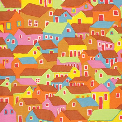 Kaffe Spring Collective 2017 Shanty Town Ochre - PWBM047