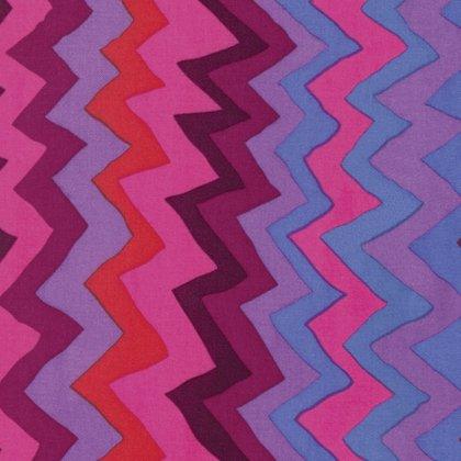 Kaffe Fassett Collective Spring 2017 Sound Waves - Purple - PWBM062 PURPL