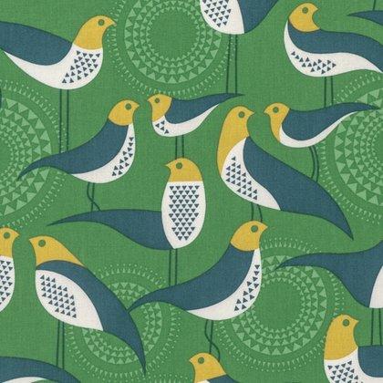 Free Spirit Modernist by Joel Dewberry - Perch Emerald