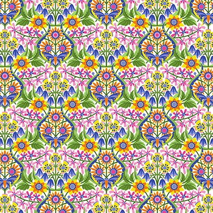 Spring Fever by Jane Sassaman - Queen of the May
