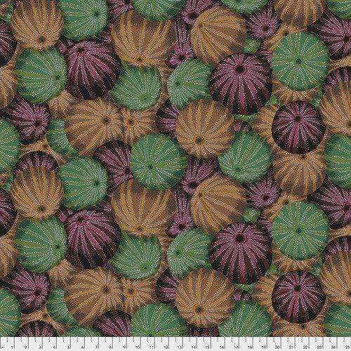 Kaffe Fassett Collective - Spring 2019 - Sea Urchins - Antique - PWPJ100.ANTIQUE