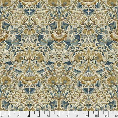 1 1/2 yds  End of BoltBloomsbury by William Morris - Lodden Teal PWWM023.TEAL