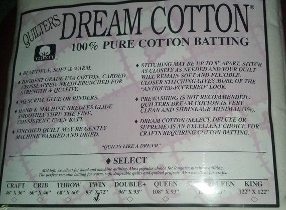 Quilter's Dream Cotton Request Batting White Queen