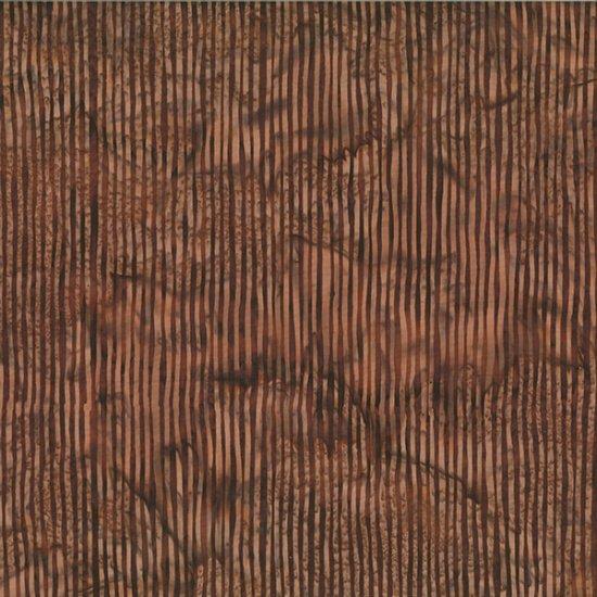 Hoffman Bali Batik - Skinny Stripes - Chocolate - R2284-108