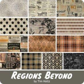Fat Quarter Bundle - Tim Holtz - Regions Beyond (13 pieces)