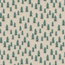 Holiday Classics - Fir Trees - Linen - RP604-L12