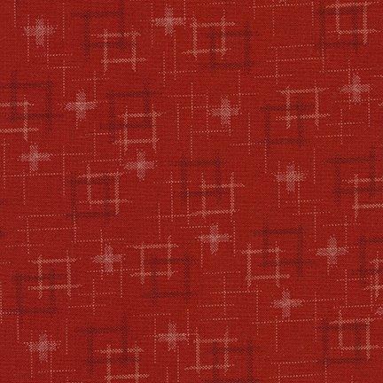 Red D1-3 - Sevenberry: Kasuri