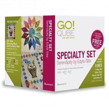 Accuquilt GO! Specialty Set - Serendipity by Edyta Sitar