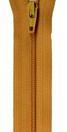 Yukon Gold 14in Bulk YKK Zipper