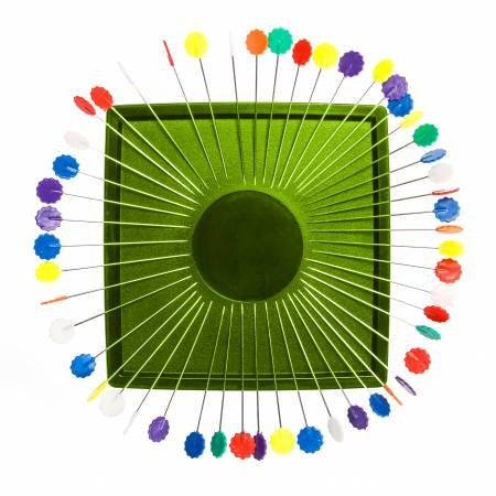 Zirkel Magnetic Pin Cushion - Lime Green