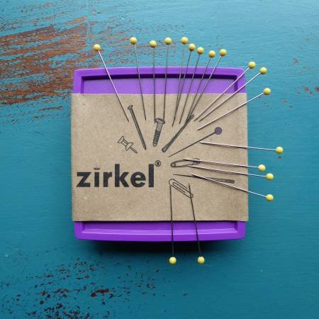 Zirkel Magnetic Pin Cushion - Purple