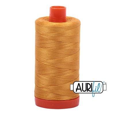 Aurifil 2140 50wt 1422yd Mustard
