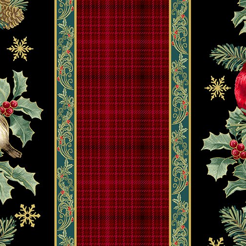 Winter Elegance - Winter Elegance Stripe Multi 12342M-99