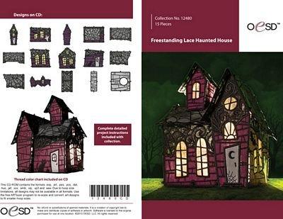 Freestanding Haunted House CD